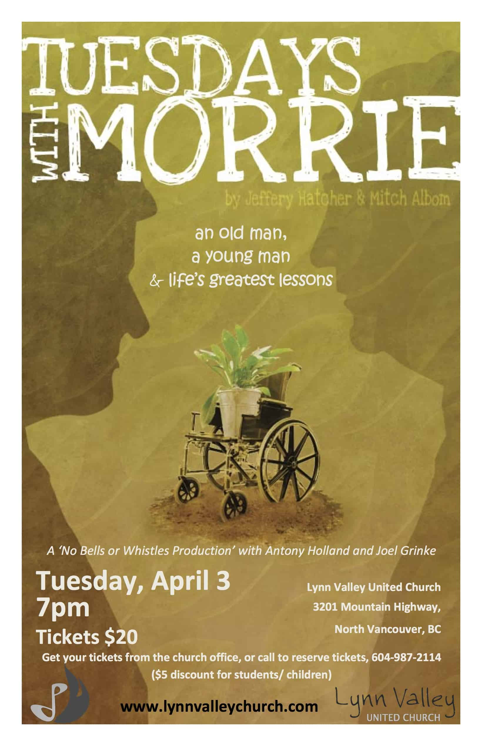 life and death according to morrie Tuesdays with morrie invites us to reflect on the dying process  a philosophical  man who lives life according to his principles, he is a favourite.